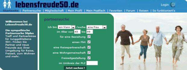 Lebensfreude50.de Bewertung können Sie ganz einfach online nachlesen