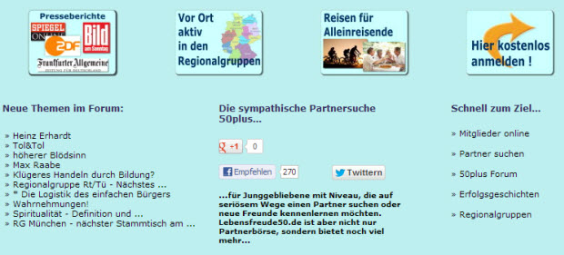 Lebensfreude50.de Bewertung online