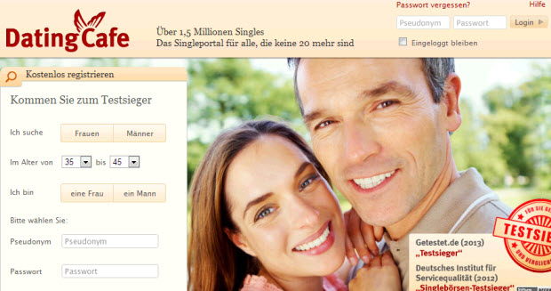 Datingcafe nicht mehr kostenlos